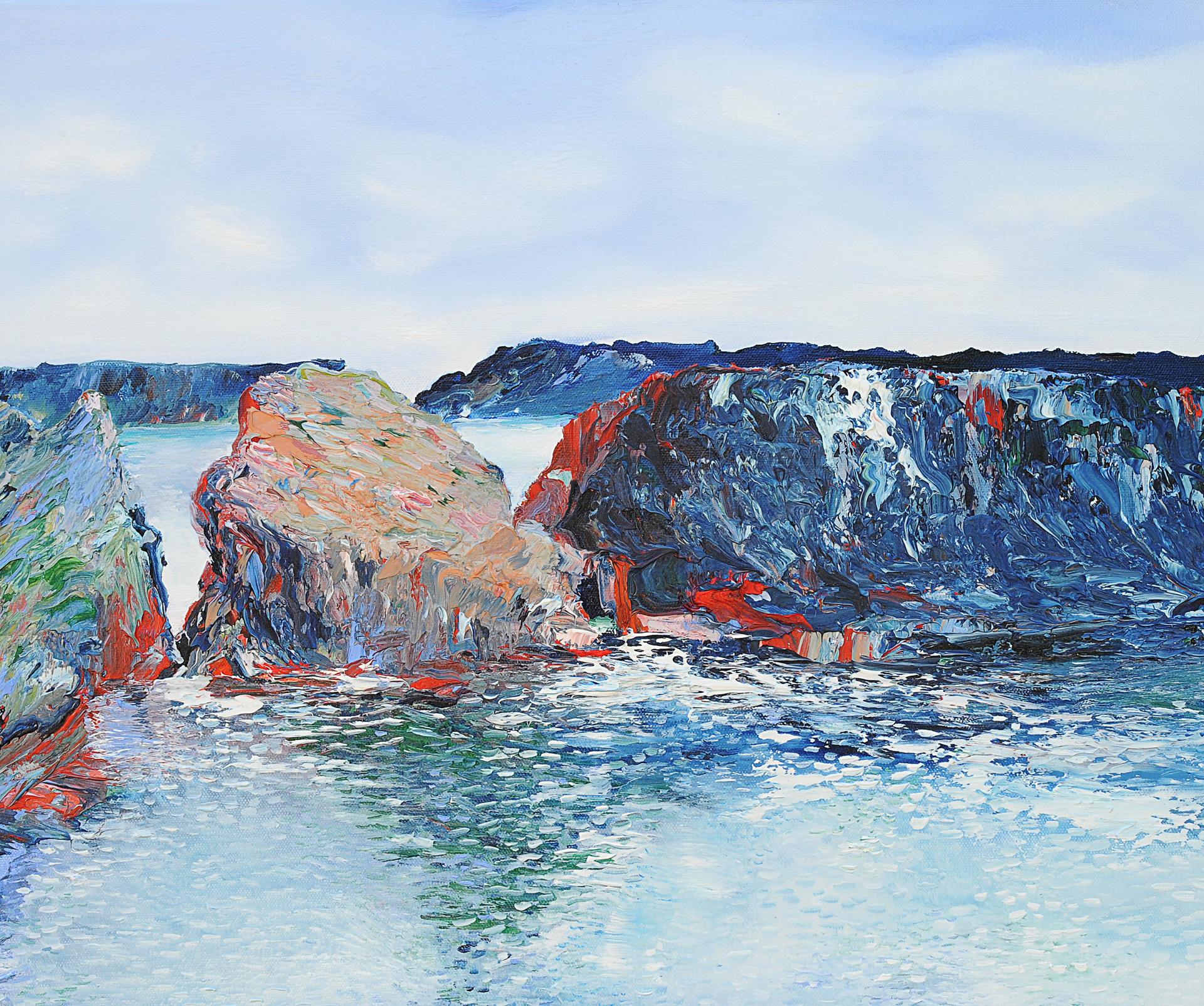 Cliffs by David J Williams