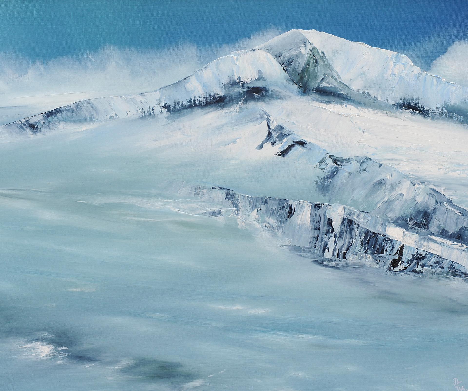 Snow Bluff by David J Williams